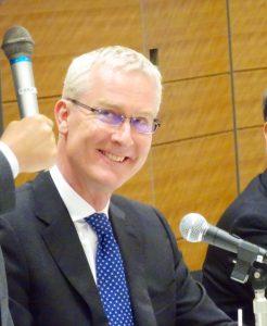 日豪国会議員連盟が開催され、ブルース・ミラー駐日大使からご挨拶をいただきました。