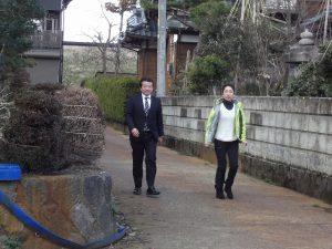 午後からは藤田ひろふみさんと挨拶回り