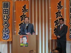 高橋一夫元市長のご挨拶