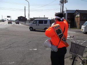 藤田ママチャリ隊を率いて、街頭からお訴えさせて頂きました。