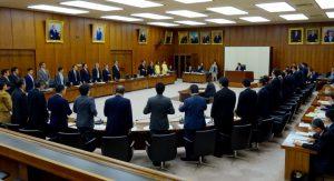 スポーツ庁設置法案は全会一致で可決されました。