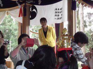 神社の春季大祭