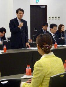 朝8時から、都内で開催された新潟県の政策説明会に出席しました。