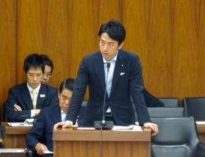 経済財政諮問会議について、小泉内閣府政務官にご答弁頂きました。