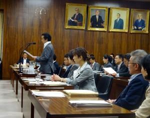 文部科学委員会が開かれました