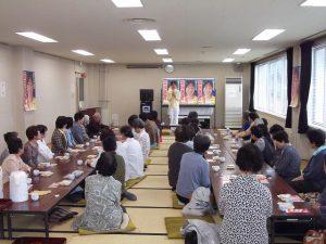 加茂レディースまきこ会を開催しました。