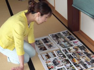 栃尾日中友好協会の写真展へ。