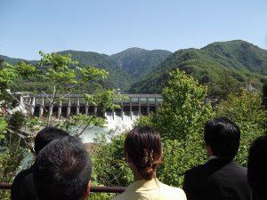 水力発電を目的とした鹿瀬ダム