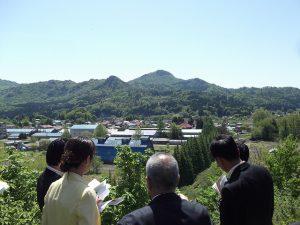 昭和電工鹿瀬工場跡地を視察しました。