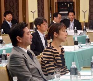 今朝は、日本海沿岸地帯振興連盟総会に出席。