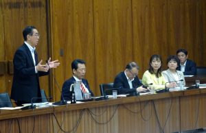 文部科学委員会が開かれ、放医研改正案について審議が行われました。