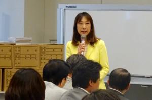 日本弁護士連合会主催院内勉強会「安保法制を問う」に出席。