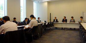 党文部科学部門会議、主権者教育WTが開かれました。