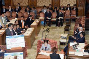 安保特別委員会が総理他、担当大臣出席のもと開催されました。