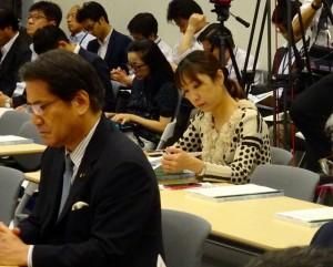 連合主催の重点政策説明会に出席。