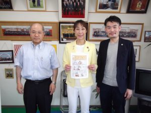 新潟県弁護士会の先生が来訪されました。