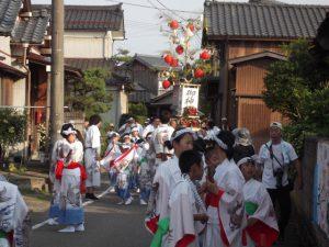 新潟市南区の新飯田祭りにお邪魔しました。