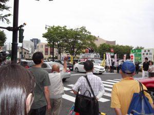 「安倍政権の暴走をただす全国キャンペーン」の一環として、新潟市中央区万代にて街頭演説を行いました。