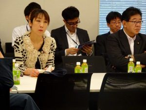 年金情報調査対策本部に出席後、遅れて日本・太平洋島嶼国友好議連総会に出席。