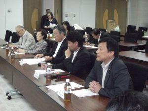 4区からは、小島県議と宇野市議が出席しました。