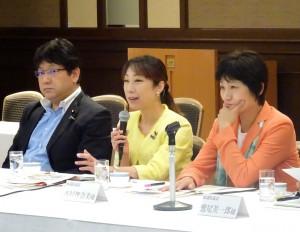 今朝は、新潟市の国に対する要望説明会に出席。