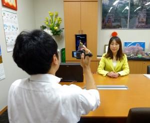地元テレビ局から安保法案についての取材を2局、受けました。