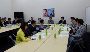 合間をぬって、拉致議連役員会に出席。