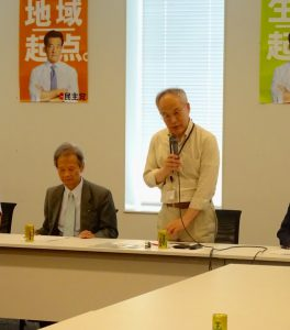 講師は、早稲田大学長谷部恭男教授。政府の安保関連法案は違憲とばっさり。
