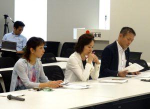 東京オリパラ公共事業再検討本部に出席。