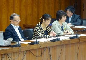 文部科学委員会が開かれ、遠藤利明五輪担当大臣の所信を聴取しました。