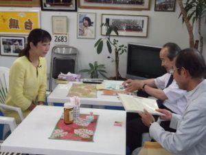地元に戻り、全国B型肝炎訴訟新潟事務所の陳情を受けました