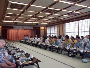 地元に戻り、JP労組新潟定期総会懇親会に出席