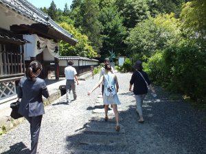 会津武家屋敷を見学