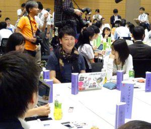 元NHKアナウンサー堀潤さんも参加されていました。