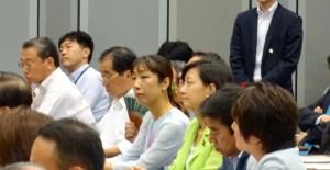 連合主催の労働者保護ルール改悪阻止院内集会に出席。