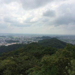 両崖山、山頂からの眺め