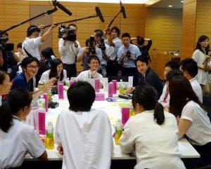 小泉進次郎内閣府大臣政務官が参加した「地方創生コース」