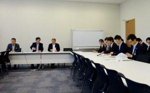 文部科学部門会議を開催。主権者教育確立のための学校教育のあり方について提言をまとめました。