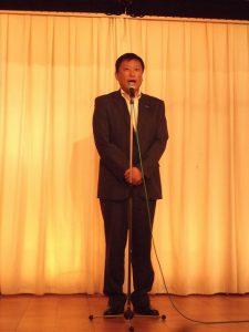 新たに4区幹事長に就任された小島晋県議