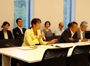 文部科学部門会議が開かれ、平成28年度文科省概算要求についてヒアリングを受けました。