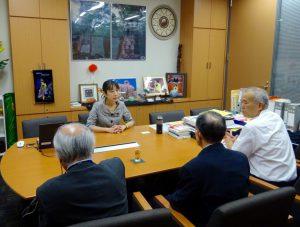 議連開催に合わせて新潟から上京された関係者と意見交換。