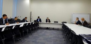 地域主権調査会では、全国知事会等からヒアリングを受けました。