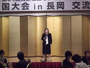 NPO法人高齢社会をよくする女性の会理事長 樋口恵子さん
