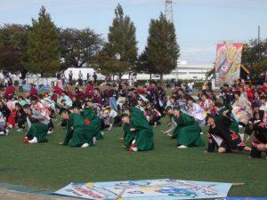 新潟市南区の凧フェスティバル&産業まつりに参加