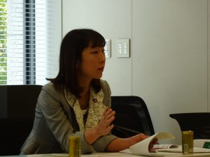 文科部門会議では、高校生の政治的活動等に関する副教材及び指導用資料、通知案について文科省より説明を受けました。