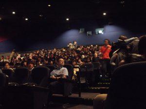 上映会には、たくさんの方がいらっしゃってました。