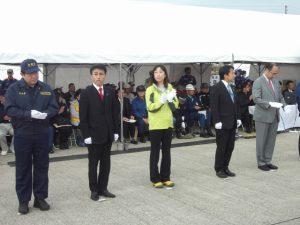 大規模津波防災総合訓練に参加しました。