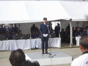 泉田知事のご挨拶。