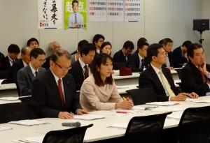 経済連携調査会が開かれました。