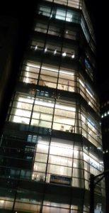 東京の街を一望できるクォーツタワー